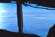 Passing over Beardmore Glacier on the way to McMurdo Station from the pole.
