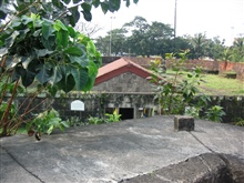The inner fort and chapel of the Intramuros of Manila.