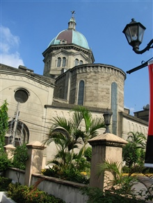The Manila Cathedral.