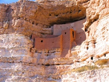 Montezuma's Castle cliff dwellings