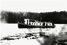 Steam Launch COSMOS.In service 1888 -1927.Alaska service