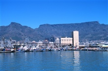 A view of part of Capetown, South Africa, from the NOAA Ship RONALD H. BROWN.