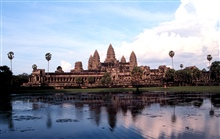The temple at Angkor Wat