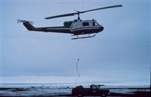 Helicopter operations in the Alaskan Arctic in support of OuterContinental Shelf Environmental Assessment Program (OCSEAP) studies.