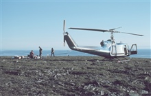Bell UH-1M supporting scientific studies.