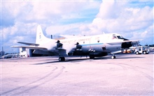 NOAA Lockheed WP-3D Orion turboprop aircraft, a P-3 variant.