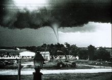 Tornado in farm country