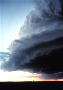 Supercell - often associated with violent weather.