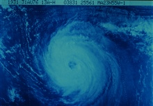 Hurricane Frances in the north central Atlantic Ocean