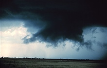 Wall cloud.