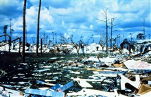 Hurricane Andrew - Another view of the Pinewoods Villa area