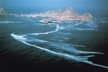 A view of the Farallon Islands