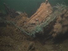 Fishing gear that has entangled historic shipwrecks harms the wreck'swooden structure as well as the marine life that reside there.