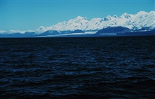 Enroute to Prince William Sound -Mt. St. Elias is high peak in left-center