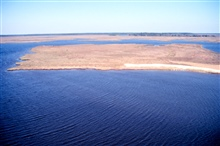Grand Bay National Estuarine Research Reserve.North from Rigolets.  LSU aerial shoreline survey of October 1998.