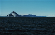 Kayak Island - Cape St. Elias.  Distant mountains are at least 60 miles off.