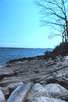 Maine is known for its rocky shoreline