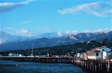 The pier at Santa Barbara
