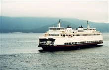 A Puget Sound ferry boat