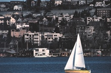 Sailing on Lake Union