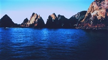 A clear day in the Gulf of the Farallones National Marine Sanctuary