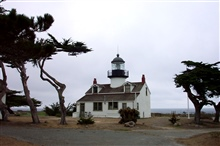 The Point Pinos Lighthouse.