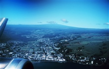 Hilo from the air after taking off for Maui