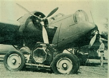 Martin B-10-B bomber used to test nine-lens camera.Wright-Patterson Army Air Force Base