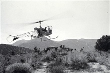 Refueling point for the helicopter.Triangulation party of Lorne G. Taylor