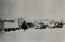 Camp at Station Beazer - things are getting cold.