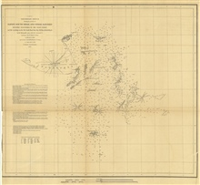 Annual Report 1851. A No. 2 Preliminary Sketch Showing the positions ofDavis's South Shoal and Other Dangers Recently Discovered by the Coast Survey