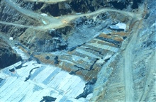 Remedial activity at Iron Mountain Mine.