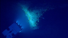 Deep Discoverer ROV as seen from Seirios.