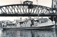 The Coast and Geodetic Survey Ship WESTDAHL at Portland, Oregon, on sea trials.