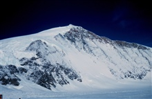 Mountain on the south side of Skelton GlacierMcMurdo Station to South Pole traverse