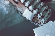 The crevasses were capable of swallowing the tractors.McMurdo Station to South Pole traverse
