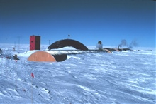 A view of South Pole Station