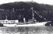 Coast and Geodetic Survey Steamer EXPLORER.In service 1904-1939.Pacific service
