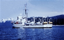 Coast and Geodetic Survey Ship HODGSON.In service 1946-1967.