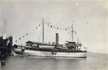 Coast and Geodetic Survey Ship MARINDUQUE.In service 1905-1932.