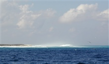 Surf at Clipperton Island.