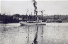 Coast and Geodetic Survey Steamer PATTERSON.In service 1884-1919.Pacific service