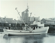 The Bureau of Commercial Fisheries Research Vessel GEORGE M. BOWERS atTampa, Florida.
